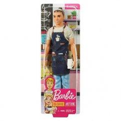 Кукла Barbie Кен Бариста FXP03