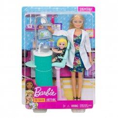 Кукла Mattel Barbie Я могу стать FXP16 Барби Игровой набор Стоматолог