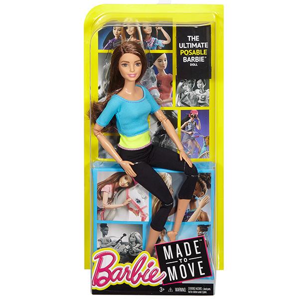 Barbie BE-DJY08 Кукла Mattel Barbie Безграничные движения DJY08 Барби