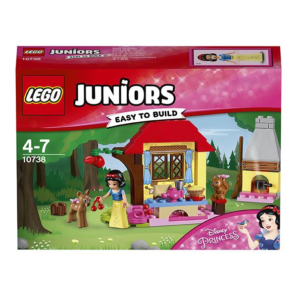 Набор Лего Конструктор LEGO Juniors Лесной домик Белоснежки (10738)