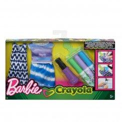 Набор Mattel Barbie Сделай моду сам Crayola FPW12_FPW14 Барби
