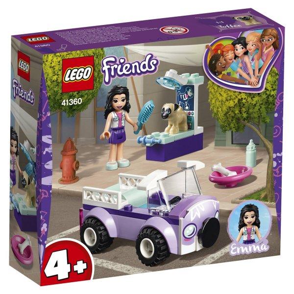 Конструктор LEGO Friends Передвижная ветклиника Эммы 41360