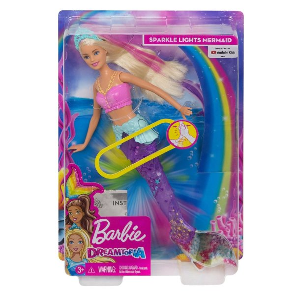 Barbie GFL82 Кукла Barbie GFL82 Мерцающая русалочка