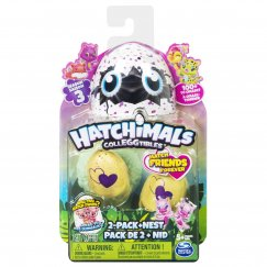 НОВЫЕ АРТИКУЛЫ 6041332 Hatchimals Коллекционная фигурка (2 штуки)