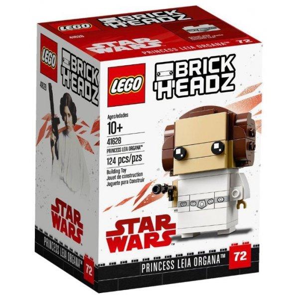 Набор Лего Конструктор LEGO BrickHeadz 41628 Принцесса Лея Органа