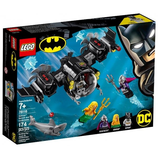 LEGO Super Heroes 76116 Подводный бой Бэтмена Конструктор