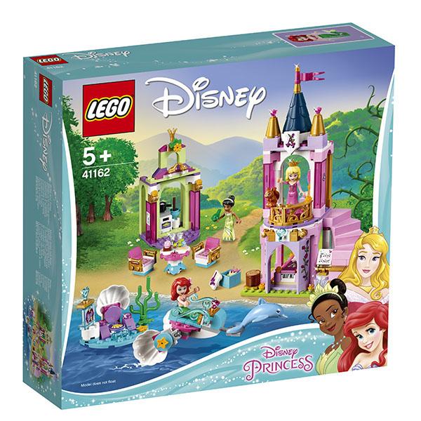 LEGO Disney Princess 41162 Конструктор LEGO Disney Princess 41162 Королевский праздник Ариэль, Авроры и Тианы
