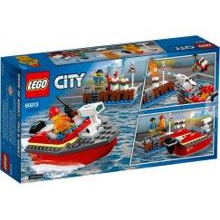 Набор лего - Конструктор LEGO City 60213 Пожар в порту