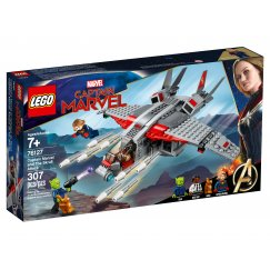 Конструктор LEGO Marvel Super Heroes 76127 Капитан Марвел и атака скруллов