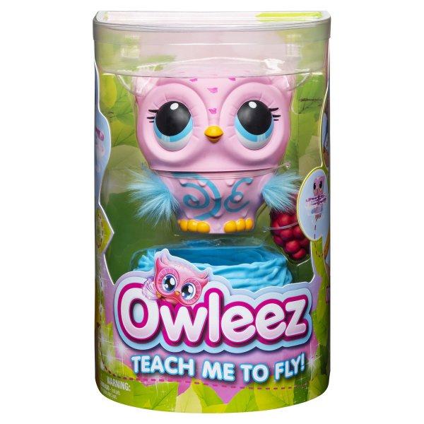 6053359 Игрушка Owleez Совенок Розовый