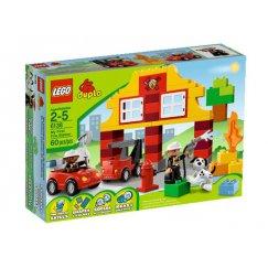 Набор лего - Конструктор LEGO DUPLO 6138 Мой первый Пожарный участок
