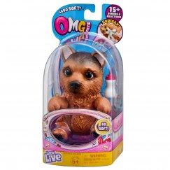 Интерактивная игрушка робот Moose Little Live Pets 28916 Cквиши-щенок Немецкая овчарка