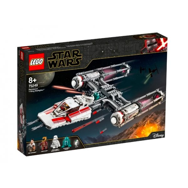 Набор Лего Конструктор LEGO Star Wars 75249 Звёздный истребитель Повстанцев типа Y