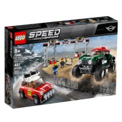Набор лего - Конструктор LEGO Speed Champions 75894 Мини Купер 1967 и Мини Купер 2018