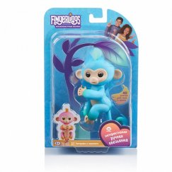 Интерактивная игрушка робот WowWee Fingerlings 3723 обезьянка Чарли