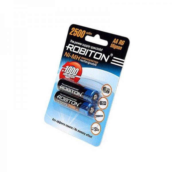 Аккумулятор Robiton AA 2 шт, 2850mAh