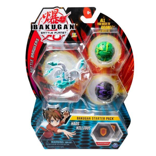 20109060 Игровой набор Spin Master Bakugan Starter Pack Aurelus Dragonoid 20109060