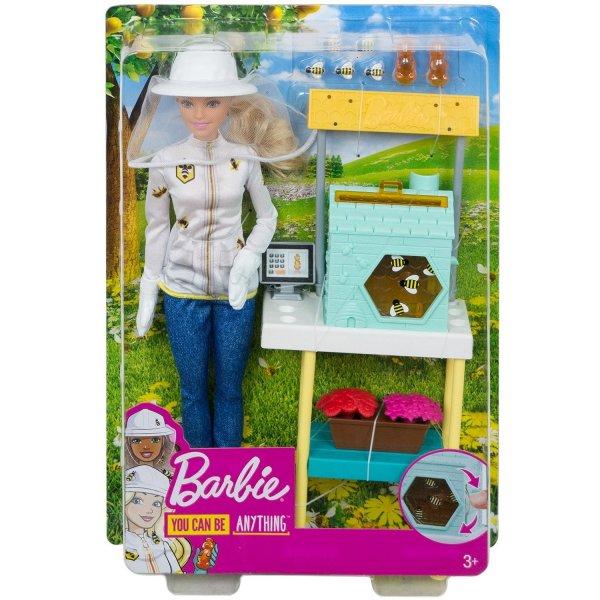 Набор игровой Barbie Кем быть Пчеловод FRM17