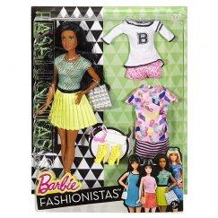 Кукла Barbie с набором одежды, 29 см, DTD97