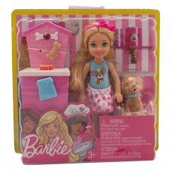 Кукла Barbie FHP66/FHP67 Магазин аксессуаров для щенков, 16 см