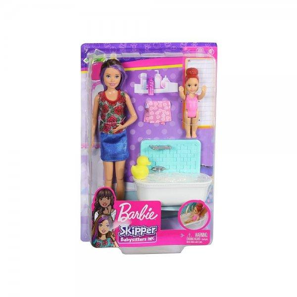 """Игровой набор Barbie Няня """"BATHTIME"""", MATTEL, FHY97/FXH05"""