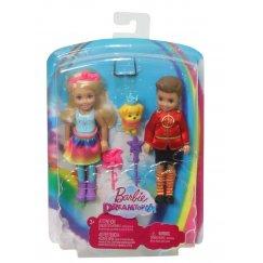 Набор кукол Barbie Дримтопия Челси и Отто, 14 см, FRB14