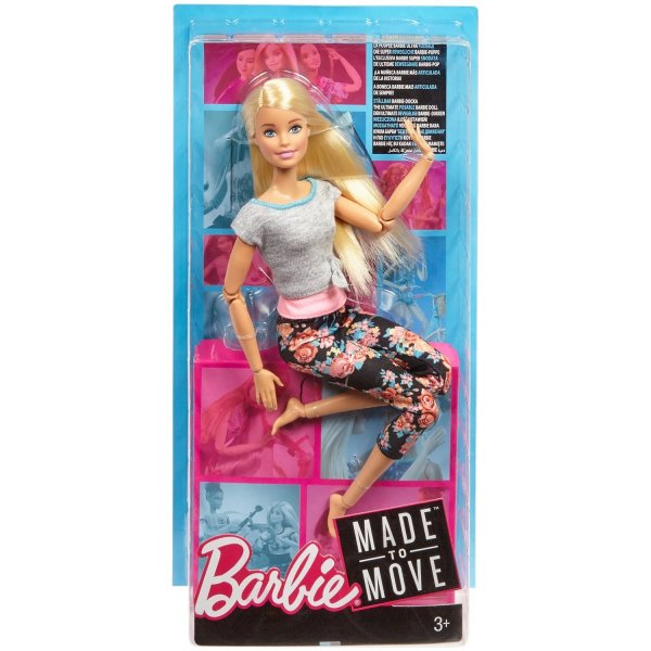 Кукла Barbie Безграничные движения Йога Блондинка, 29 см, FTG81