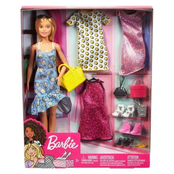 Кукла Barbie Мода с аксессуарами GDJ40