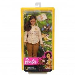 Кукла Barbie Кем быть? Nat Geo Защитник дикой природы, GDM48