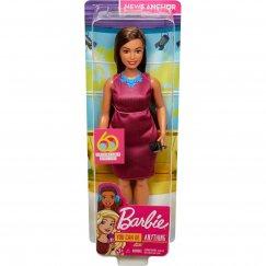 Кукла Barbie Кем быть? Ведущая новостей, 29 см, GFX27