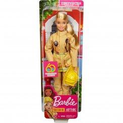 Кукла Barbie к 60летию Кем быть Пожарный