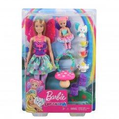 Кукла Barbie Dreamtopia Заботливая принцесса Чаепитие, GJK50