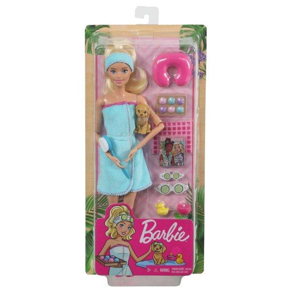 """Mattel Barbie Игровой набор """"Релакс"""" GKH73 / GJG55 блондинка"""