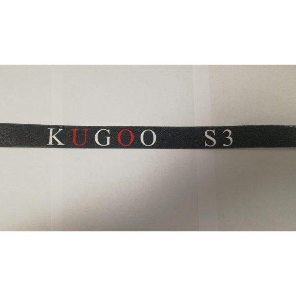 Наклейка шкурка для электросамоката Kugoo S3