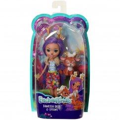 Набор Enchantimals кукла Данэсса Оленни и Спринт FXM75