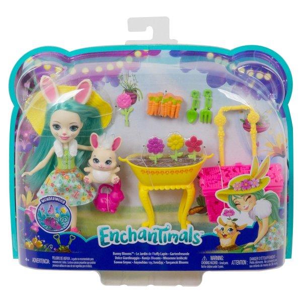 Набор игровой Enchantimals Бри Кроля в саду GJX32