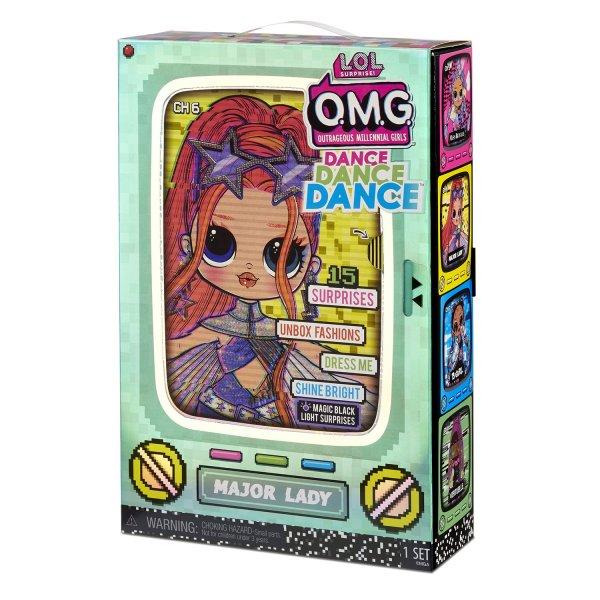 LOL Surprise Кукла L.O.L. Surprise! OMG Dance Major Lady 117889EUC