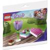 Набор лего - Конструктор LEGO Friends 30411 Цветок и коробка конфет