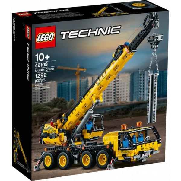 Набор Лего Конструктор LEGO Technic 42108 Мобильный кран