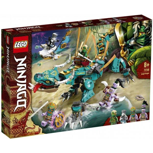 Набор Лего Конструктор LEGO Ninjago 71746 Дракон из джунглей