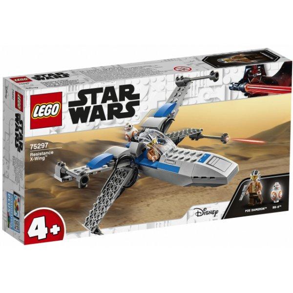 Набор Лего Конструктор LEGO Star Wars 75297 Истребитель Сопротивления типа X