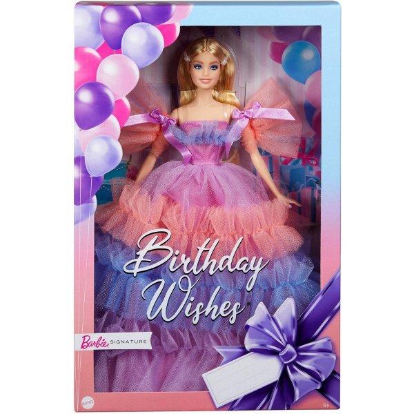 Кукла Barbie Пожелания ко дню рождения, GTJ85