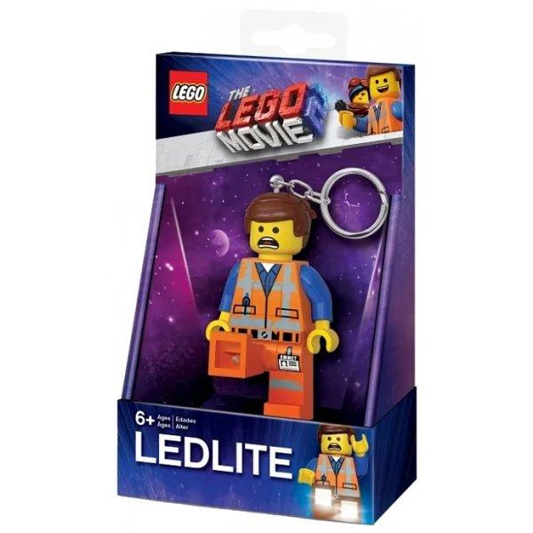 LGL-KE145 Брелок-фонарик LEGO LGL-KE145, оранжевый/желтый/синий