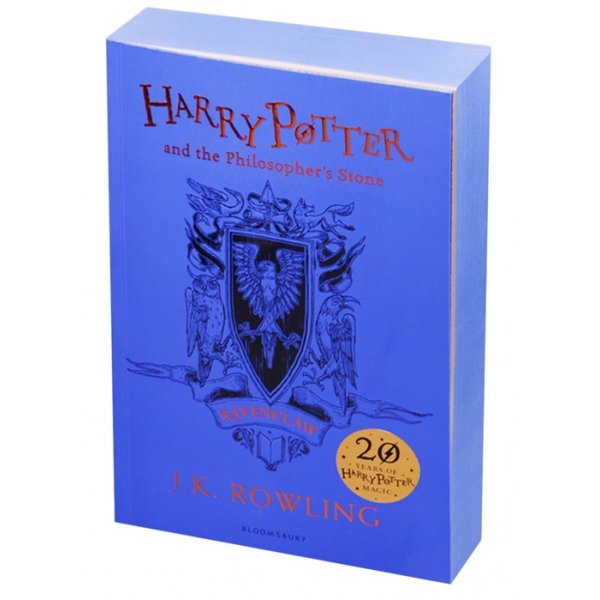 978-1-4088-8377-8 Rowling J. Harry Potter and the Philosopher's Stone - Ravenclaw Edition Paperback (мягк.)