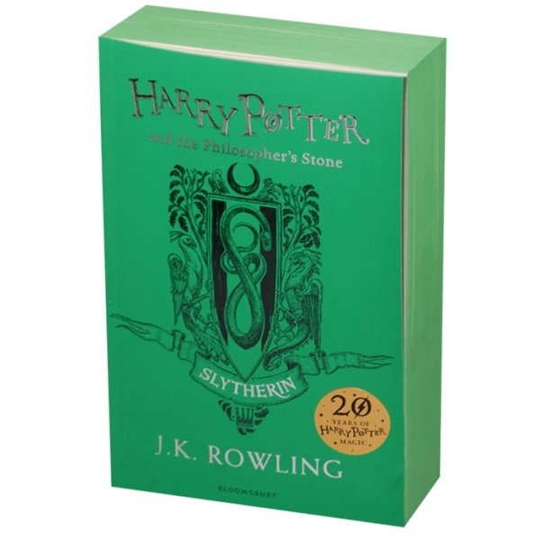 978-1-4088-8375-4 Rowling J. Harry Potter and the Philosopher's Stone - Slytherin Edition Paperback (мягк.)