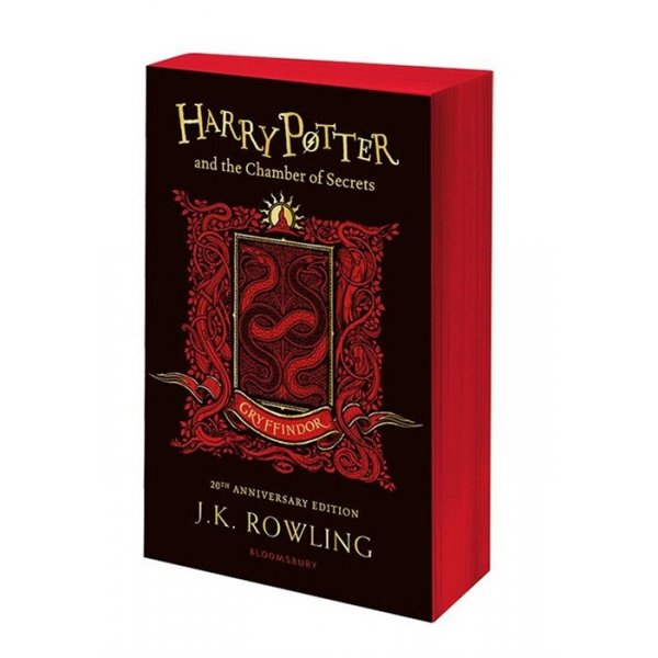 978-1-4088-9810-9 Rowling J. Harry Potter and the Chamber of Secrets. Gryffindor (мягк.)