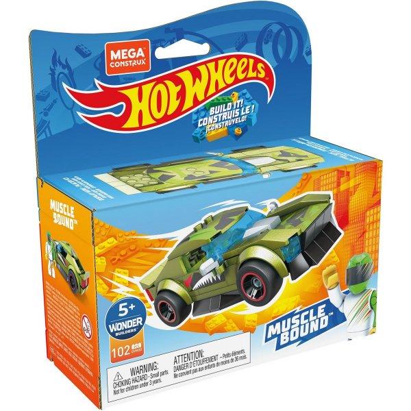 Конструктор Mega Construx Hot Wheels GVM30 Машинка гоночная Масл Баунд