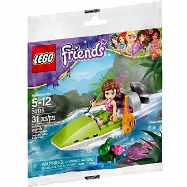 Конструктор LEGO Friends 30115 Лодка для джунглей (полиэтиленовый пакет)