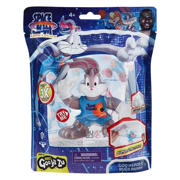 Гуджитсу Игрушка Багз Банни Космический Джем тянущаяся фигурка ТМ GooJitZu (39063)