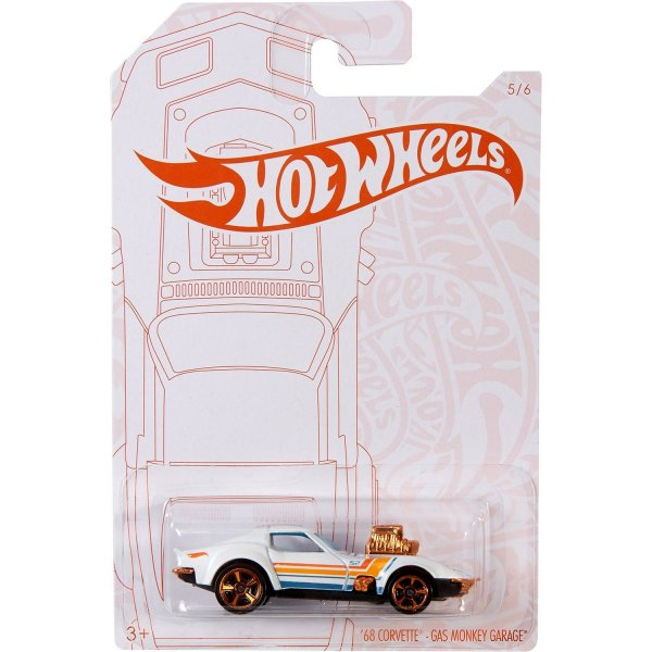 Игрушка Mattel Hot Wheels Перламутр и хром